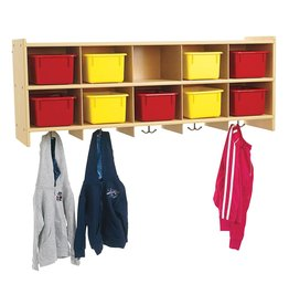 Angeles Angeles ANG7160 Value Line 10 Section Wall Locker