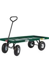 Farm Tuff Farm Tuff Metal Deck Wagon, 24-Inch by 48-Inch, Green