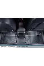 MAX LINER MAXLINER Custom Fit Floor Mats 2 Row Liner Set Black for 2014-2021 Porsche Macan