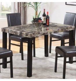 Best Master Furniture Best Master Furniture Britney Dining Table Only, Espresso