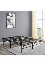 """Amazon Basics Amazon Basics Foldable, 14"""" Metal Platform Bed Frame with Tool-Free Assembly, No Box Spring Needed - Queen"""