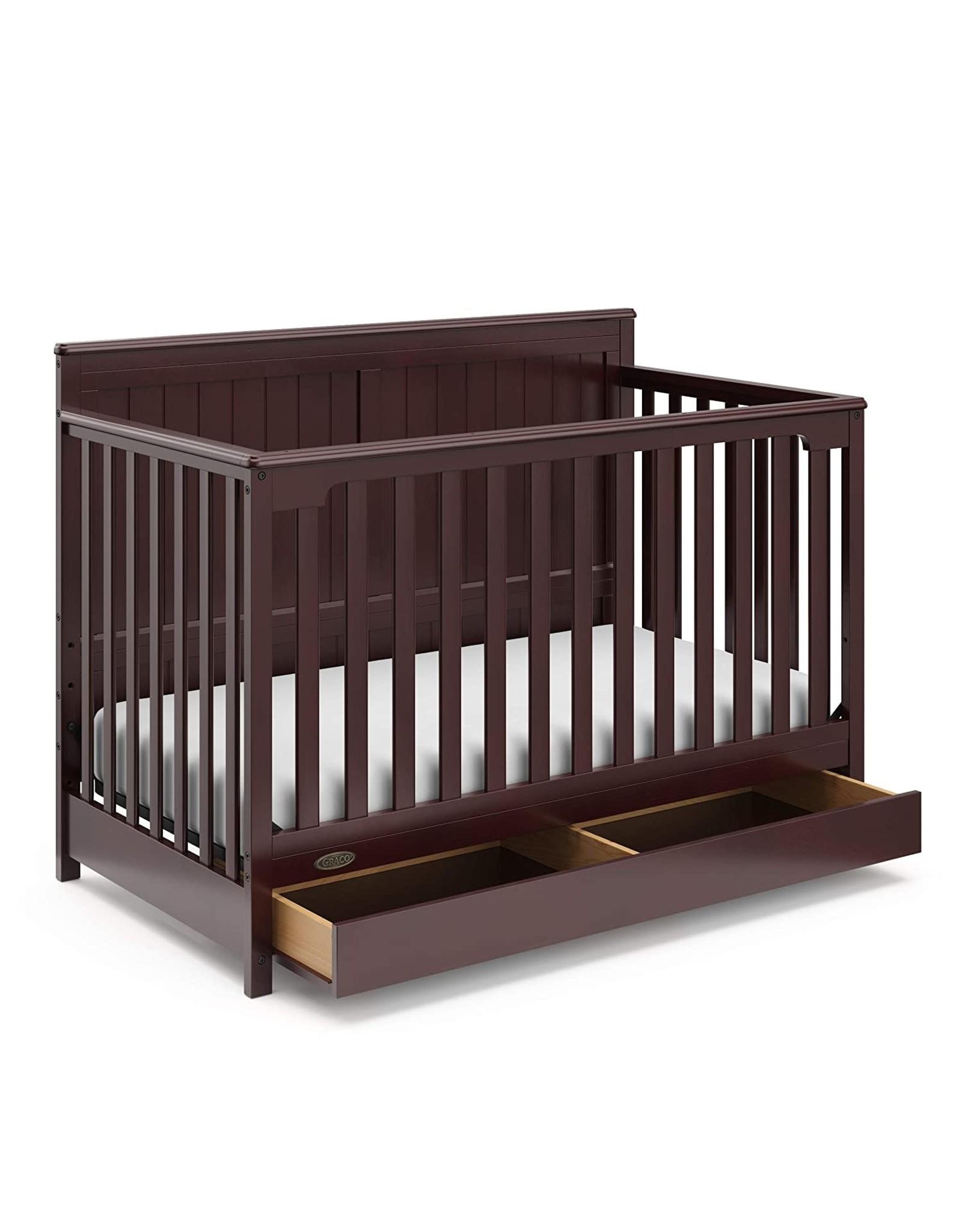 Graco Graco Hadley Baby Crib, Espresso