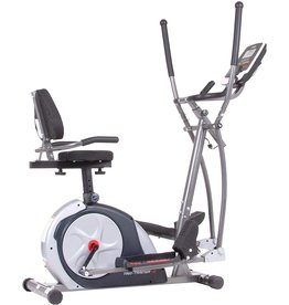 Body Champ Body Champ 3-in-1 Exercise Machine, Trio Trainer Plus Two, Silver