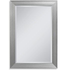 Head West Head West Silver Fluted Gallery, 35-1 45-1/2 inches Wall Mirror