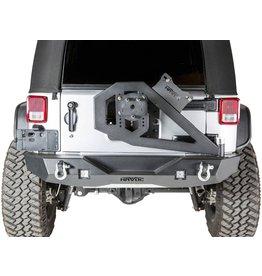 Havoc Offroad Havoc HPG-43-20202 Aftershock GEN 2 Rear Bumper w/Tire Carrier; 07-18 Jeep Wrangler JK/JKU