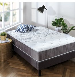 Zinus Zinus 10 Inch Support Plus Pocket Spring Hybrid Mattress / Extra Firm Feel / More Coils for Durable Support / Pocket Innersprings for Motion Isolation / Bed-in-a-Box, King