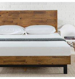 Zinus Zinus Tricia Platform Bed, King, Brown