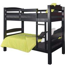 Powell Furniture Powell Furniture Levi Bunk Bed, Black