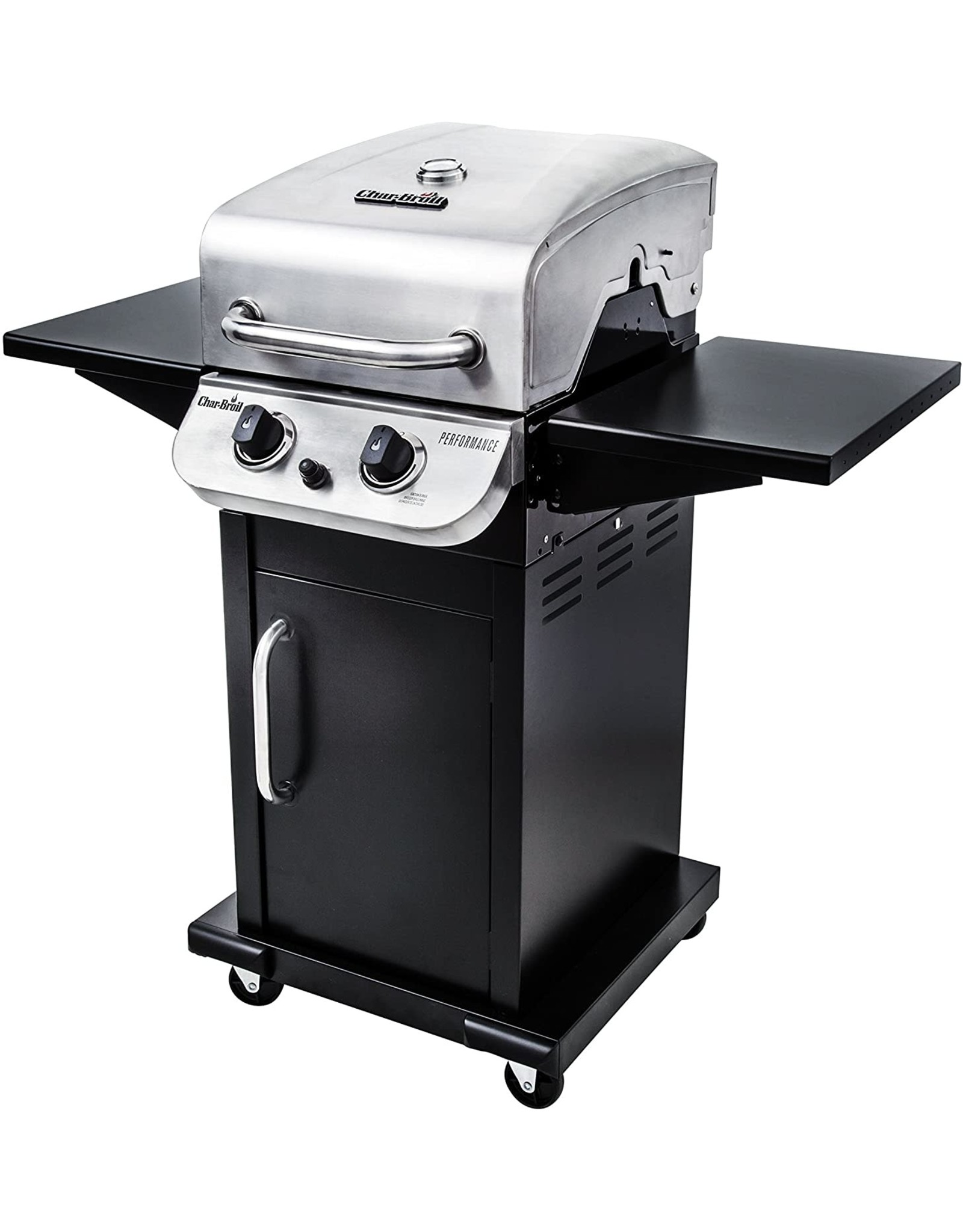 Char-Broil Char-Broil 463673519 Performance Series 2-Burner Cabinet Liquid Propane Gas Grill, Stainless Steel