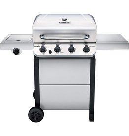 Char-Broil Char-Broil 463377319 Performance 4-Burner Cart Style Liquid Propane Gas Grill, Stainless Steel