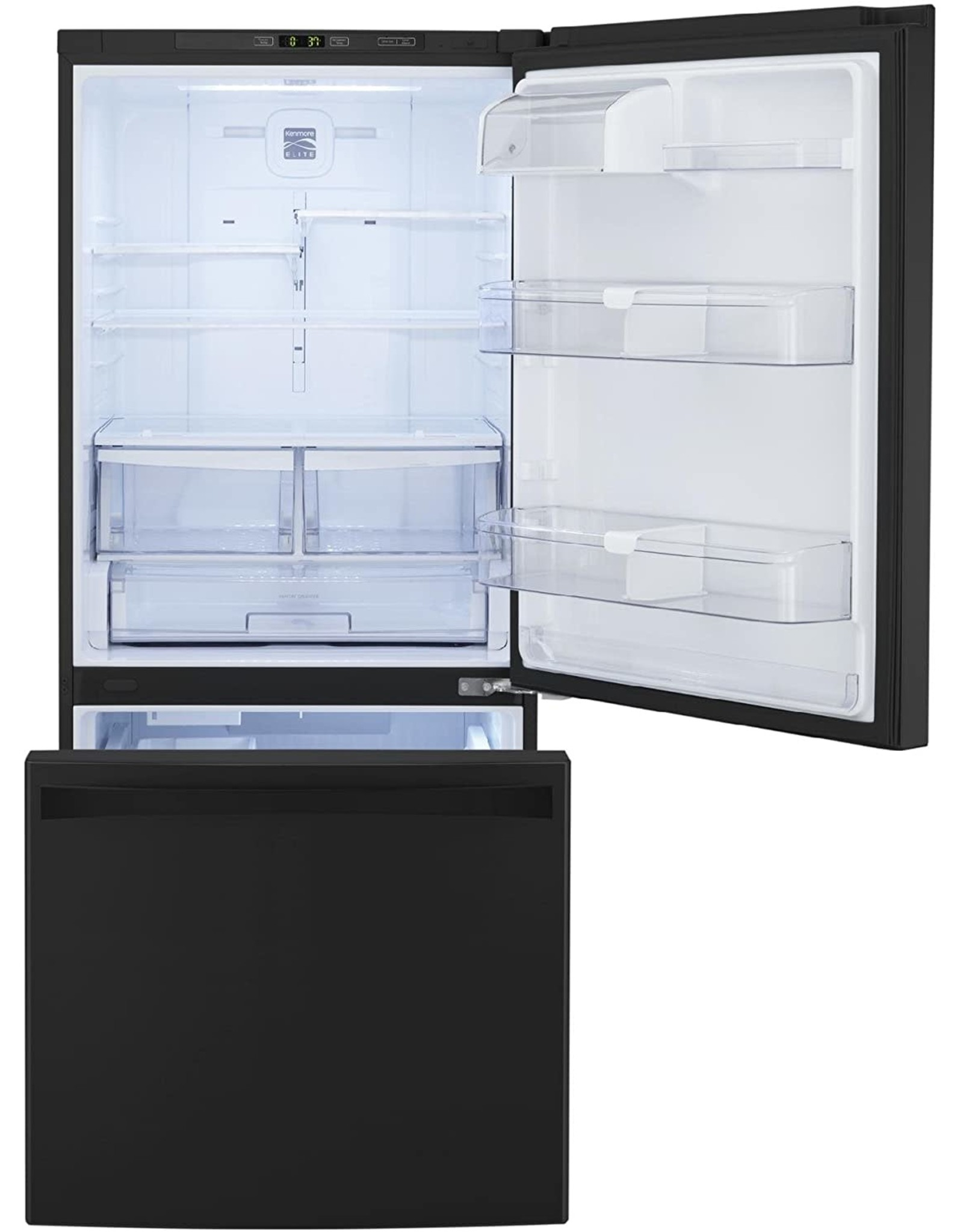 Kenmore Kenmore 79343 22 cu. ft. Wide Bottom Freezer Refrigerator in Stainless Steel