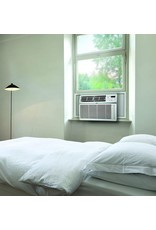 LG LG 24,500 BTU 230V Window-Mounted Air Conditioner with Remote Control, White