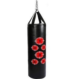BalanceFrom BalanceFrom Workout MMA 70 Pound Heavy Boxing Punching Bag with Chains