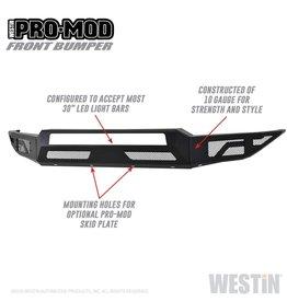 Westin Westin Textured Black Pro-Mod Front Bumper F-250/350 2017-2019