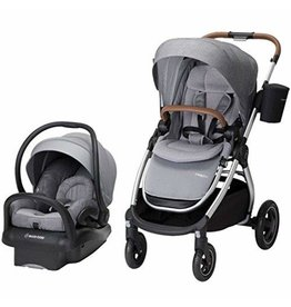 Maxi-Cosi Maxi-Cosi Adorra 2.0 5-in-1 Modular Travel System with Mico Max 30 Infant Car Seat, Nomad Grey