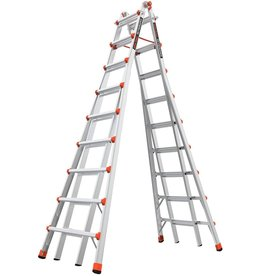 Little Giant Ladder Systems Little Giant Ladders, SkyScraper, M17, 9-17 Foot, Stepladder, Aluminum, Type 1A, 300 Lbs Weight Rating, (10110)