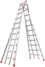 Little Giant Ladder Systems Little Giant Ladders, SkyScraper, M21, 11-21 Foot, Stepladder, Aluminum, Type 1A, 300 lbs Weight Rating, (10121)