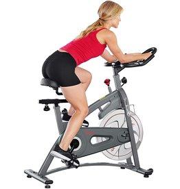 Sunny Health & Fitness Sunny Health & Fitness Endurance Magnetic Belt Drive Indoor Cycling Exercise Bike Stationary Bike - SF-B1877