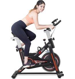 VIGBODY VIGBODY Stationary Bike Exercise Bike Belt Drive Indoor Cycling Bike for Home Cardio Workout Bike Heavy Duty Flywheel Bicycles