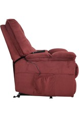Merax Merax Power Lift Recliner Chair Lazy Sofa for Elderly, Heavy-Duty Fuction with Remote Control, Office or Living Room, Red