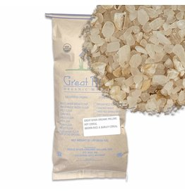 Great River Organic Milling Great River Organic Milling, Hot Cereal, Rice Cereal, Organic, 50-Pounds (Pack of 1)