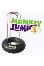 M & M Sales Enterprises M&M Sales Enterprises Monkey Jump MM00125, Black/Orange/Purple/Green, One Size