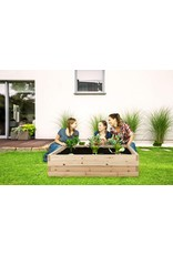 """Boldly Growing Cedar Raised Garden Bed Kit - Fast Assembly, No Tools Needed - 1.5"""" Thick Boards - (94.5"""" x 48"""" x 12"""") - Naturally Rot-Resistant Wood"""