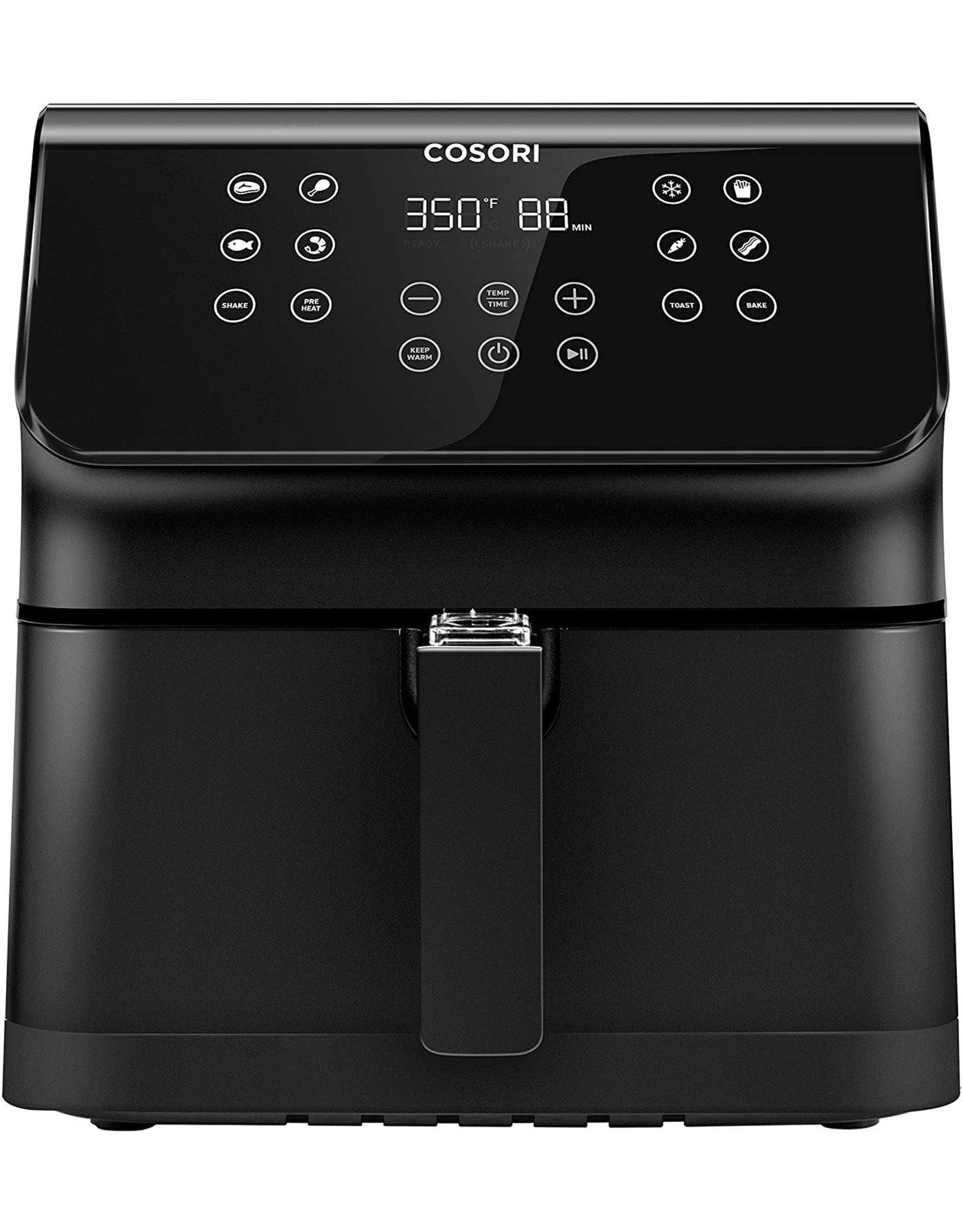 COSORI COSORI Air Fryer(100 Recipes), 12-in-1 Large XL Air Fryer Oven with Upgrade Customizable 10 Presets, Preheat, Shake Reminder, Digital Hot Oilless Cooker, 5.8QT, Black