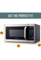Farberware Farberware Classic FMO07AHTBKJ 0.7 Cu. Ft. 700-Watt Microwave Oven with LED Lighting, Brushed Stainless Steel