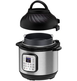 Instant Pot Instant Pot Duo Crisp 11 in 1, Electric Pressure Cooker with Air Fryer, Roast, Bake, Dehydrate, Slow Cook, Rice Cooker, Steamer, Saute, 8 Quart, 14 One-Touch Programs