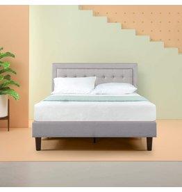 Zinus Zinus Dachelle Upholstered Platform Bed Frame / Mattress Foundation / Wood Slat Support / No Box Spring Needed / Easy Assembly, Full