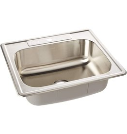 ZUHNE ZUHNE Drop In Kitchen, Bar and RV Stainless Steel Sink (25x22 Single Bowl)