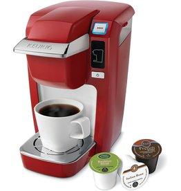 Keurig Keurig K10 Mini Plus Brewing System, Poinciana Red