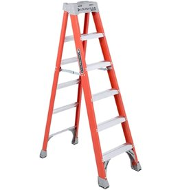 Louisville Louisville 6' Fiberglass Step Ladder