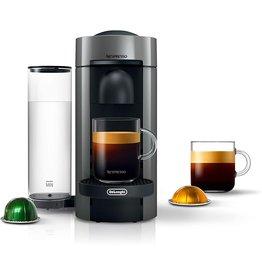 Nestle Nespresso Nespresso VertuoPlus Coffee and Espresso Machine by De'Longhi, 5.6 x 16.2 x 12.8 inches, Grey