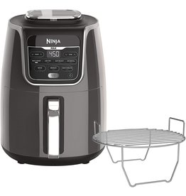 Ninja Ninja AF161 Max XL Air Fryer that Cooks, Crisps, Roasts, Broils, Bakes, Reheats and Dehydrates, with 5.5 Quart Capacity, and a High Gloss Finish