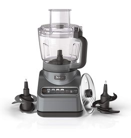 Ninja Ninja BN601 Professional Plus Food Processor 1000-Peak-Watts with Auto-iQ Preset Programs Chop Puree Dough Slice Shred with a 9-Cup Capacity and a Silver Stainless Finish
