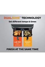 Ninja Ninja DZ201 Foodi 6-in-1 2-Basket Air Fryer with DualZone Technology, 8-Quart Capacity, and a Dark Grey Stainless Finish