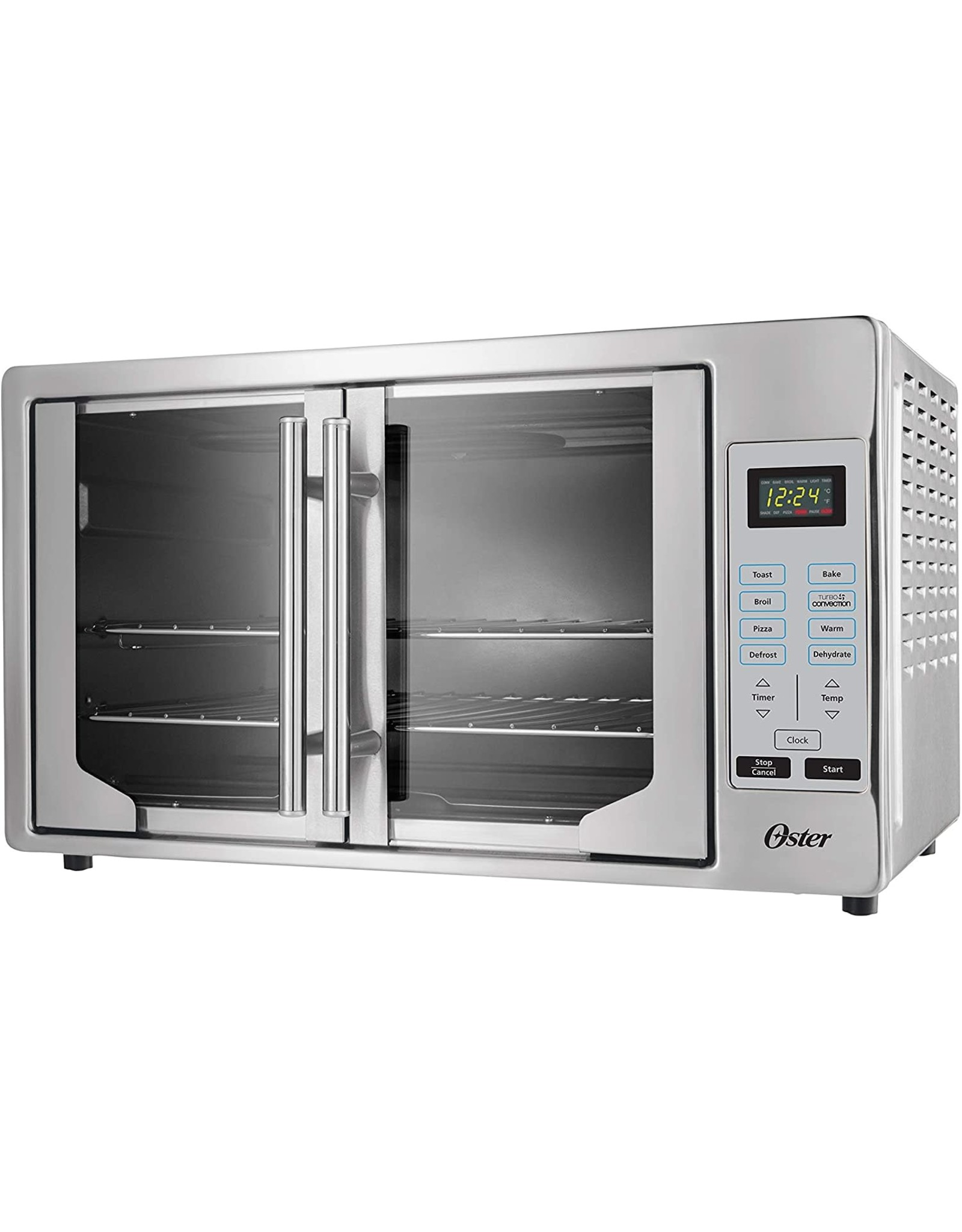 Oster Oster French Convection Countertop and Toaster Oven | Single Door Pull and Digital Controls | Stainless Steel, Extra Large