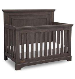 Delta Children Simmons Kids SlumberTime Paloma 4-in-1 Convertible Baby Crib, Rustic Driftwood