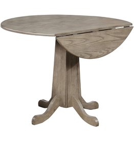 Sunset Trading Sunset Trading French Twist Drop Leaf Dining Table, Expandable, Distressed Grey