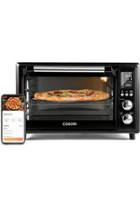 COSORI COSORI Air Fryer Toaster Oven Combo Smart 12-in-1 Countertop Dehydrator, 100 Recipes & Accessories Included, Work with Alexa, 30L, WIFI-Black
