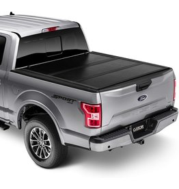 """Gator Covers Gator EFX Hard Tri-Fold Truck Bed Tonneau Cover  GC24029  Fits 2021 Ford F150 5' 7"""" Bed (67.1"""")"""", Black"""