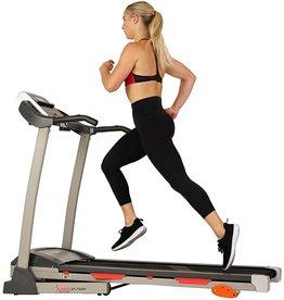 Sunny Health & Fitness Sunny Health & Fitness Treadmill, Gray (SF-T4400) , 62 2 L x 26 8 W x 47 3 H
