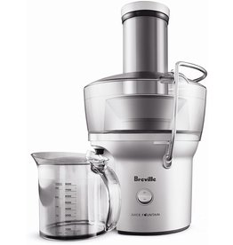 """Breville Breville BJE200XL Juice Fountain Compact Centrifugal Juicer, Silver, 10"""" x 10.5"""" x 16"""""""
