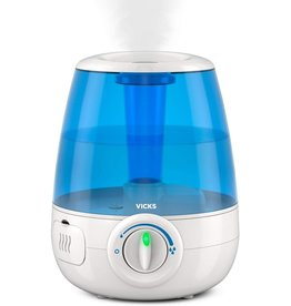 Vicks Vicks Filter-Free Ultrasonic Cool Mist Humidifier, Medium Room, 1.2 Gallon Tank-Humidifier for Baby and Kids Rooms, Bedrooms and More