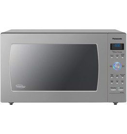 Panasonic Panasonic Countertop / Built-In Microwave Oven with Cyclonic Wave Inverter Technology and 1250W of Cooking Power - NN-SD975S - 2.2 Cu. Ft (Stainless Steel / Silver)