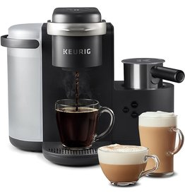 Keurig Keurig K-Cafe Single-Serve K-Cup Coffee Maker, Latte Maker and Cappuccino Maker, Comes with Dishwasher Safe Milk Frother, Coffee Shot Capability, Compatible With all Keurig K-Cup Pods, Dark Charco