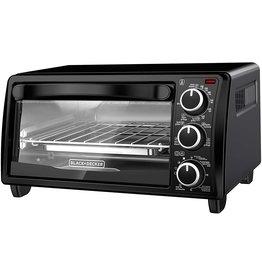 BLACK+DECKER Black+Decker TO1313B Toaster Oven, 4-Slice