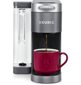 Keurig Keurig K-Supreme Coffee Maker, Single Serve K-Cup Pod Coffee Brewer, With MultiStream Technology, 66 Oz Dual-Position Reservoir, and Customizable Settings, Gray